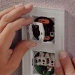 Ремонт и монтаж выключателя